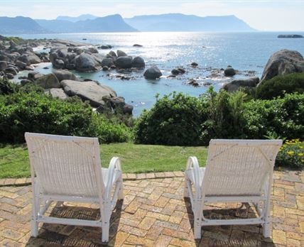 Overlooking Boulders Beach and False Bay