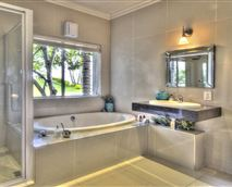 Executive suite with bath and shower