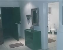 The Half Moon Room. Separate from the house, modern, separate bathroom, kitchenette, satelite TV