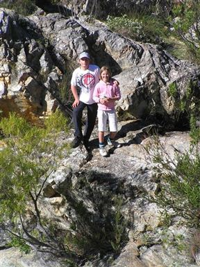Boesmanskloof Hiking Trail - Oak Falls