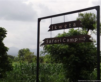 Signage © iKWETA Safari Camp