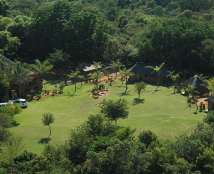 Aerial view of Zion Game Lodge