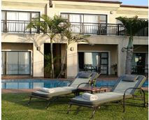 Swimming pool and barbeque facilities