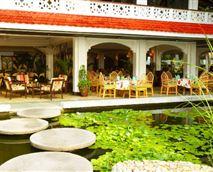 Outside seating of Minazi Restaurant