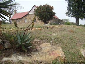 Old  Hospital building at Rorke's Drift