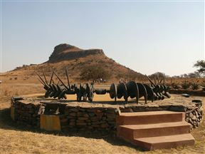 Zulu Monument at Isandlwana
