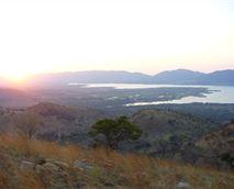 View of Hartbeespoort Dam