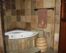 bathroom with jacuzzi!!