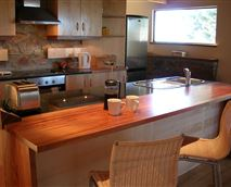 The kitchen is fully equipped including dishwasher, microwave and all the pots, pans and crockery that you could need.