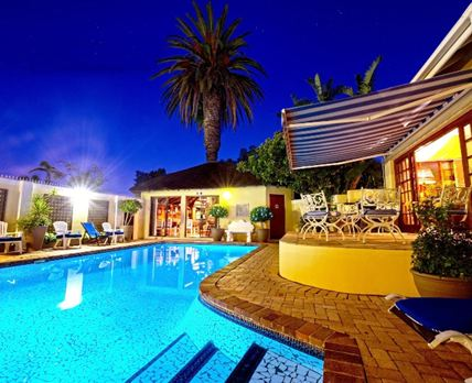 Margate Place Guest House at night
