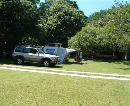 All sites enjoy level grassed areas with plenty of shade.