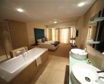 Main Bedroom with en suite bath and shower