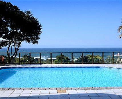 Sea view from patio © Ocean Grove Guest House