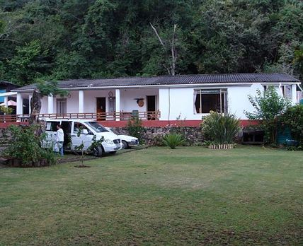 View of the main house from the road. © Port St Johns Farmhouse