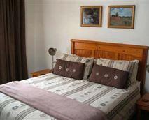 Bird Cottage bedroom.