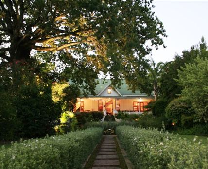 View of Cypress Cottage B&B.