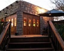 View of Mukurumanzi Lodge