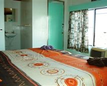 One of the bedrooms.
