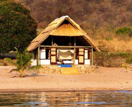 Luxury Beach Chalet exterior