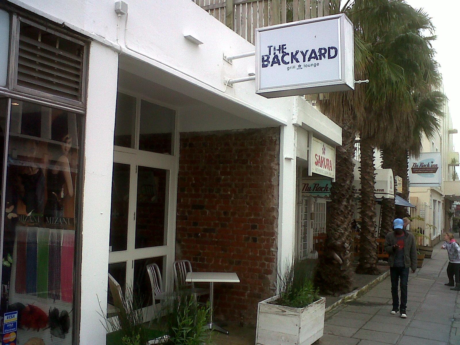 The Backyard Cape Town the backyard