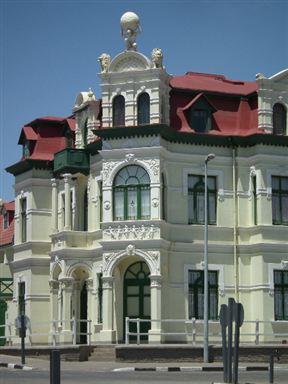 Swakopmund buildings