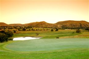 The Clarens golf green