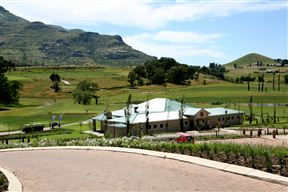 The Clarens clubhouse