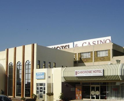 Hotel building exterior © Gaborone Hotel & Casino