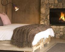 Bedroom of Bush Suite