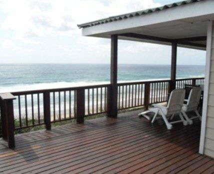 Shared deck area