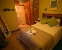 Main Bedroom sleeps two, towels and linen provided - Full DSTV in room