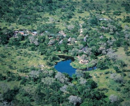 Aerial view of the logdes