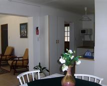Lounge, dining area and kitchen
