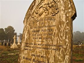 Harry Potter's Grave