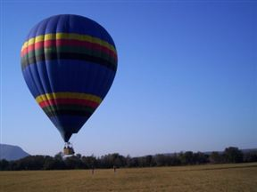 Hot air ballooning The Cradle Game Reserve