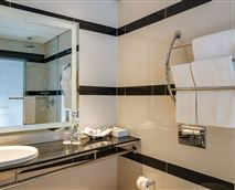Relax & unwind in our bathroom - equipped with refreshing water friendly rain showers.