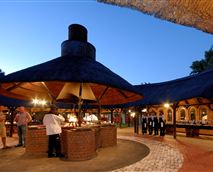 Boma and outdoor dining
