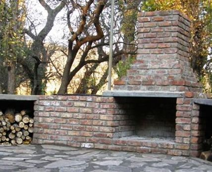 Braai facilities - there are two different braai areas