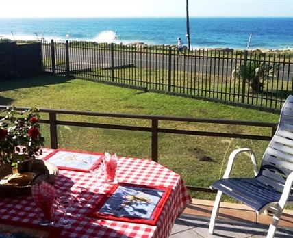 View of the ocean patio