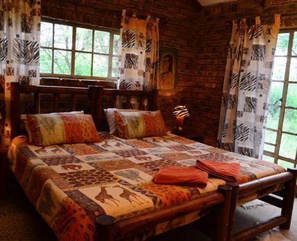 We offer nine cozy chalets © Hardus Vermaak