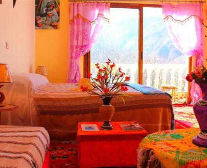Bedroom © Dar Tighoula imlil Morocco