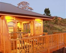 Early evening at the Ke Nako Lodges © Groves