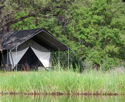Remote tented accommodation