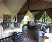 Lounge of Family Luxury Tent