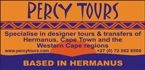 Percy Tours, Transfers, Activities in Hermanus