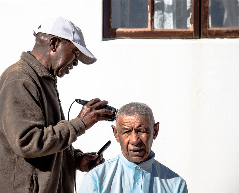 The local barber of Paternoster