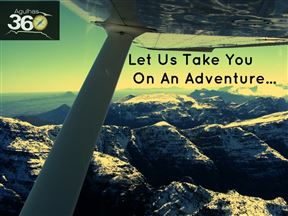 LET US TAKE YOU ON AN ADVENTURE