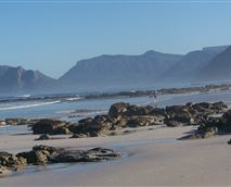 View from Long beach across to Hout Bay