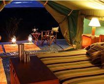 Tent interior © Entim Camp