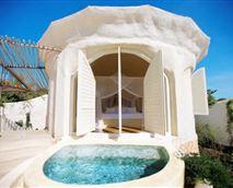 Pavilion with splash pool